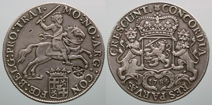 Ducaton Utrecht 1784